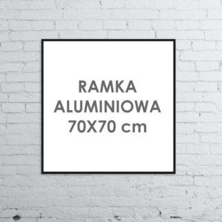 Rama aluminiowa kwadratowa ALU G3 70×70 cm