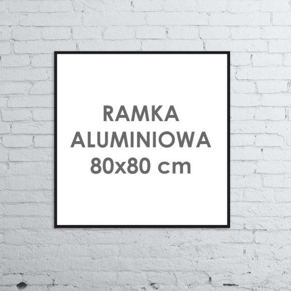 Rama aluminiowa kwadratowa ALU G3 80x80 cm