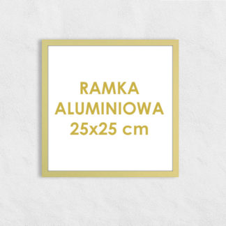 Rama aluminiowa kwadratowa ALU F5 25×25 cm