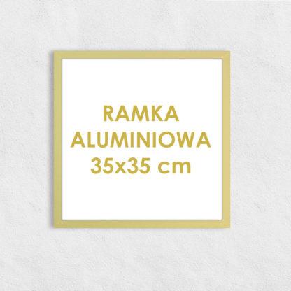 Rama aluminiowa kwadratowa ALU F5 35×35 cm