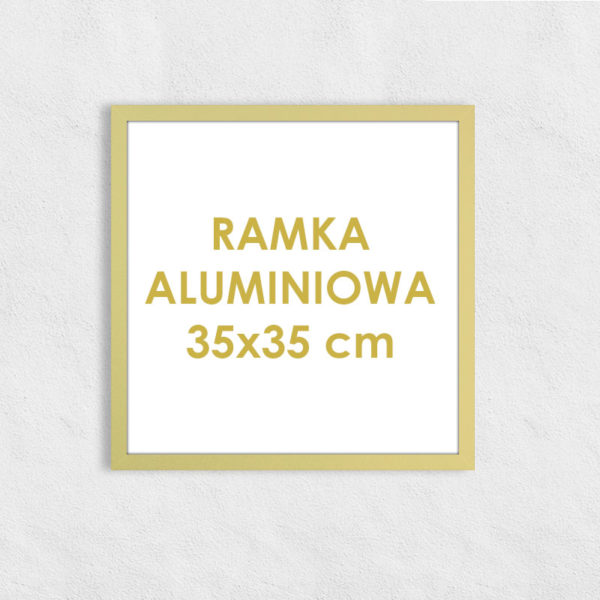 Rama aluminiowa kwadratowa ALU F5 35x35 cm