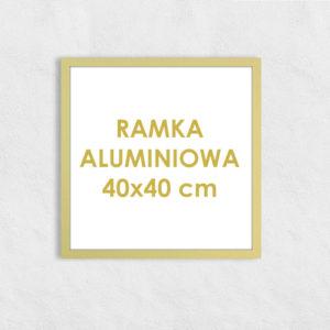 Rama aluminiowa kwadratowa ALU F5 40x40 cm