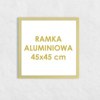 Rama aluminiowa kwadratowa ALU F5 45×45 cm