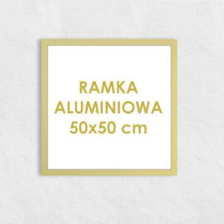 Rama aluminiowa kwadratowa ALU F5 50×50 cm