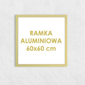 Rama aluminiowa kwadratowa ALU F5 60×60 cm
