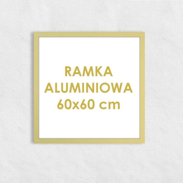 Rama aluminiowa kwadratowa ALU F5 60x60 cm