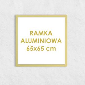 Rama aluminiowa kwadratowa ALU F5 65x65 cm