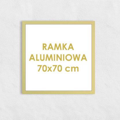 Rama aluminiowa kwadratowa ALU F5 70×70 cm