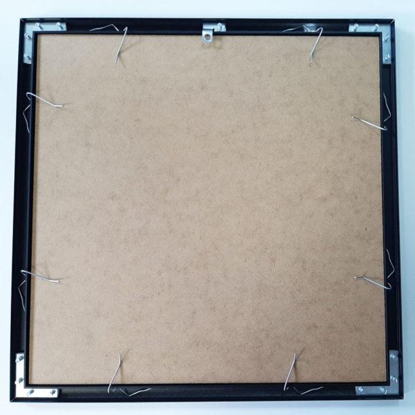 Rama aluminiowa kwadratowa ALU F5 tył gotowej ramy