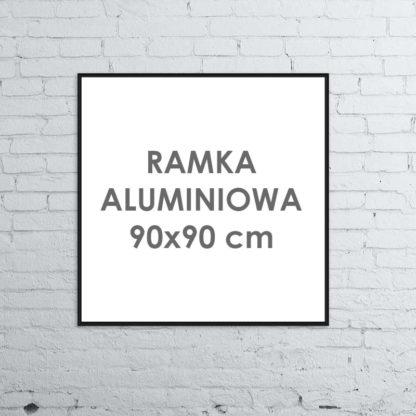 Rama aluminiowa kwadratowa ALU G3 90×90 cm