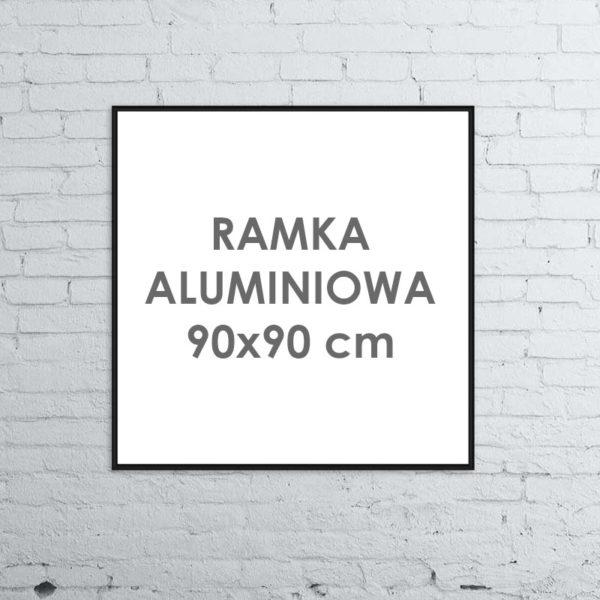 Rama aluminiowa kwadratowa 90x90 cm